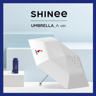 SHINEE Official Goods - Five Fold Umbrella - K Pop Goods Pink House