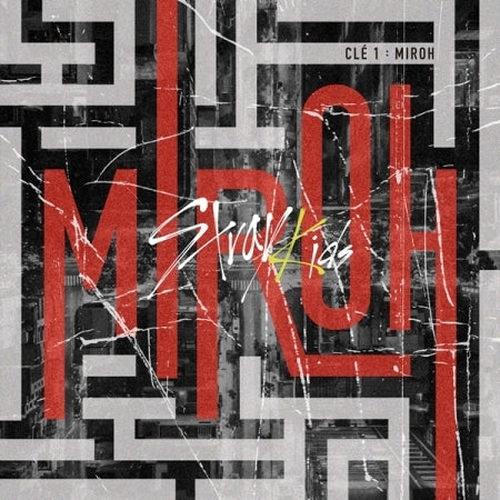 STRAY KIDS - 4th Mini Album - [CLÉ 1 : MIROH] - K Pop Pink Store
