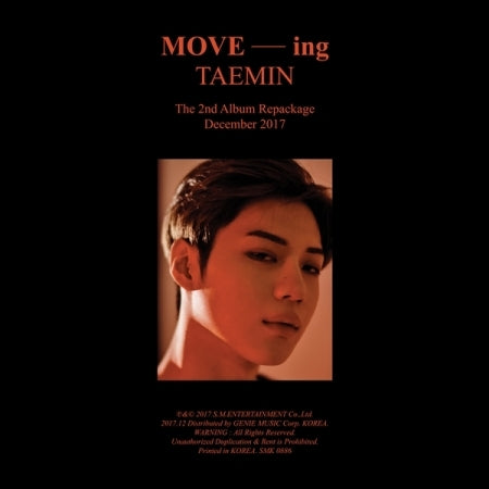 TAEMIN (SHINee) - 2nd Album Repackage - [MOVE-ING] - K Pop Goods Pink House