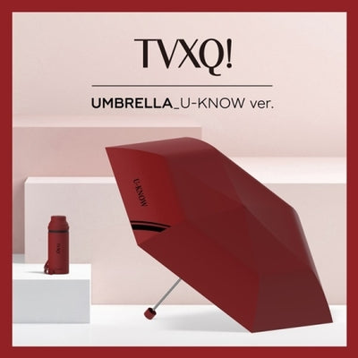 TVXQ Official Goods - Five Fold Umbrella - K Pop Goods Pink House