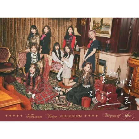 TWICE - 3rd SPECIAL ALBUM - [THE YEAR OF YES] - K Pop Goods Pink House