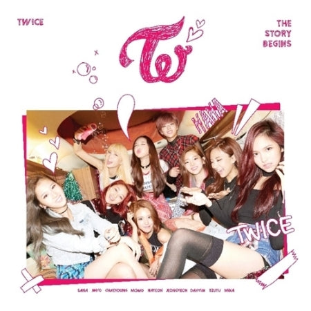TWICE - 1St MINI ALBUM - [THE STORY BEGINS] - K Pop Goods Pink House