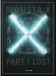 MONSTA X 3rd Mini Album - The CLAN 2.5 Part.1 LOST - K Pop Goods Pink House