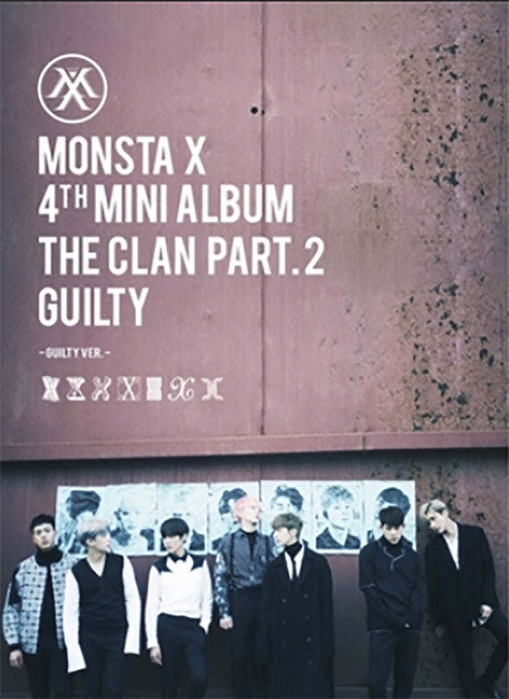 MONSTA X - [THE CLAN 2.5 PART.2 GUILTY] INNOCENT Ver. 4th Mini Album - K Pop Goods Pink House