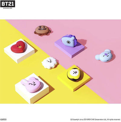 BT21 PORTABLE HAND WARMER +POWER BANK - K Pop Goods Pink House