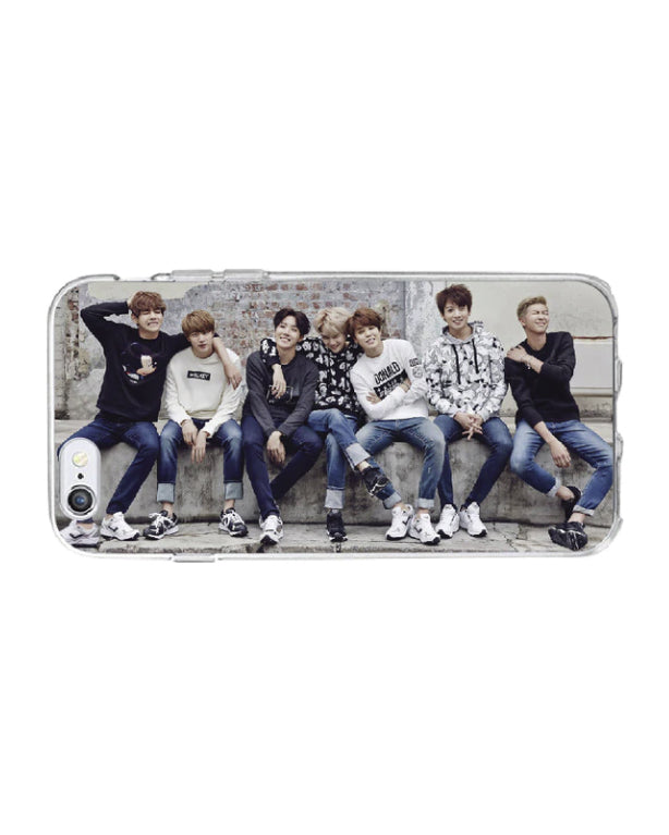 BTS Soft Silicone Phone Case for samsung S9 - K Pop Goods Pink House