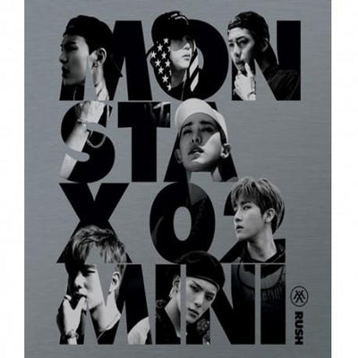MONSTA X - MINI ALBUM VOL.2 [RUSH] - K Pop Pink Store