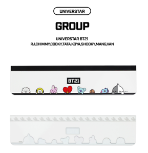 BTS BT21 New Official Monitor Memo Board Set - 5 Types - K Pop Goods Pink House