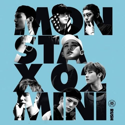 MONSTA X - MINI ALBUM VOL.2 [RUSH] SECRET VER. - K Pop Goods Pink House