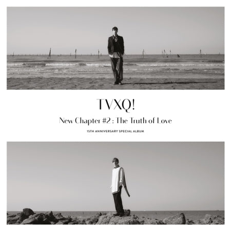 TVXQ! - NEW CHAPTER #2: THE TRUTH OF LOVE ALBUM