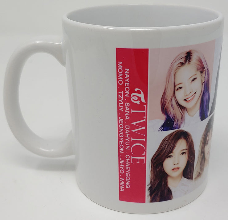 ARTIST CERAMIC COFFEE  MUG - K Pop Goods Pink House