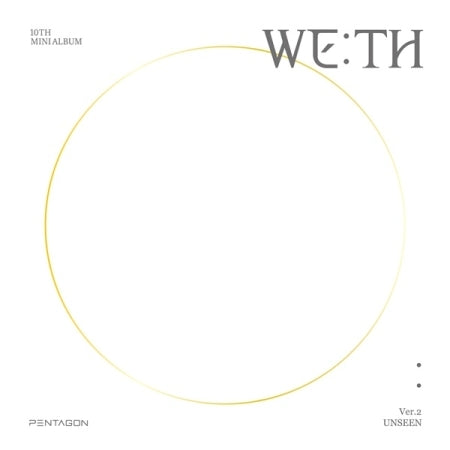 PENTAGON - 10TH MINI ALBUM - [ WE:TH ]