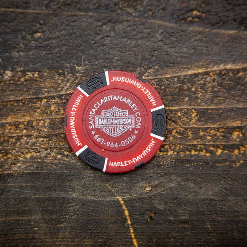 Harley-Davidson® of Santa Clarita Poker Chip - Random Color
