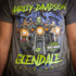 Harley-Davidson® of Glendale Hollywood Fright Nights Short Sleeve Shirt - Gray