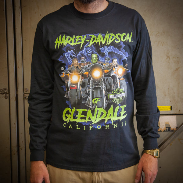 Harley-Davidson® of Glendale Hollywood Fright Nights Long Sleeve Shirt
