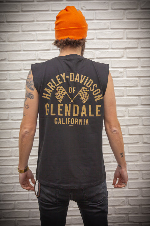 Harley-Davidson® of Glendale Gold Racer Muscle Shirt