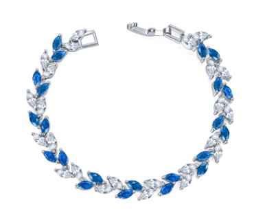 Fascinating Colorful Crystal Zircon Bracelet - 99Dolphins