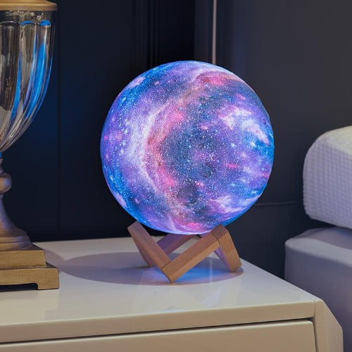 Colorful 3D Galaxy Lamp - 99Dolphins