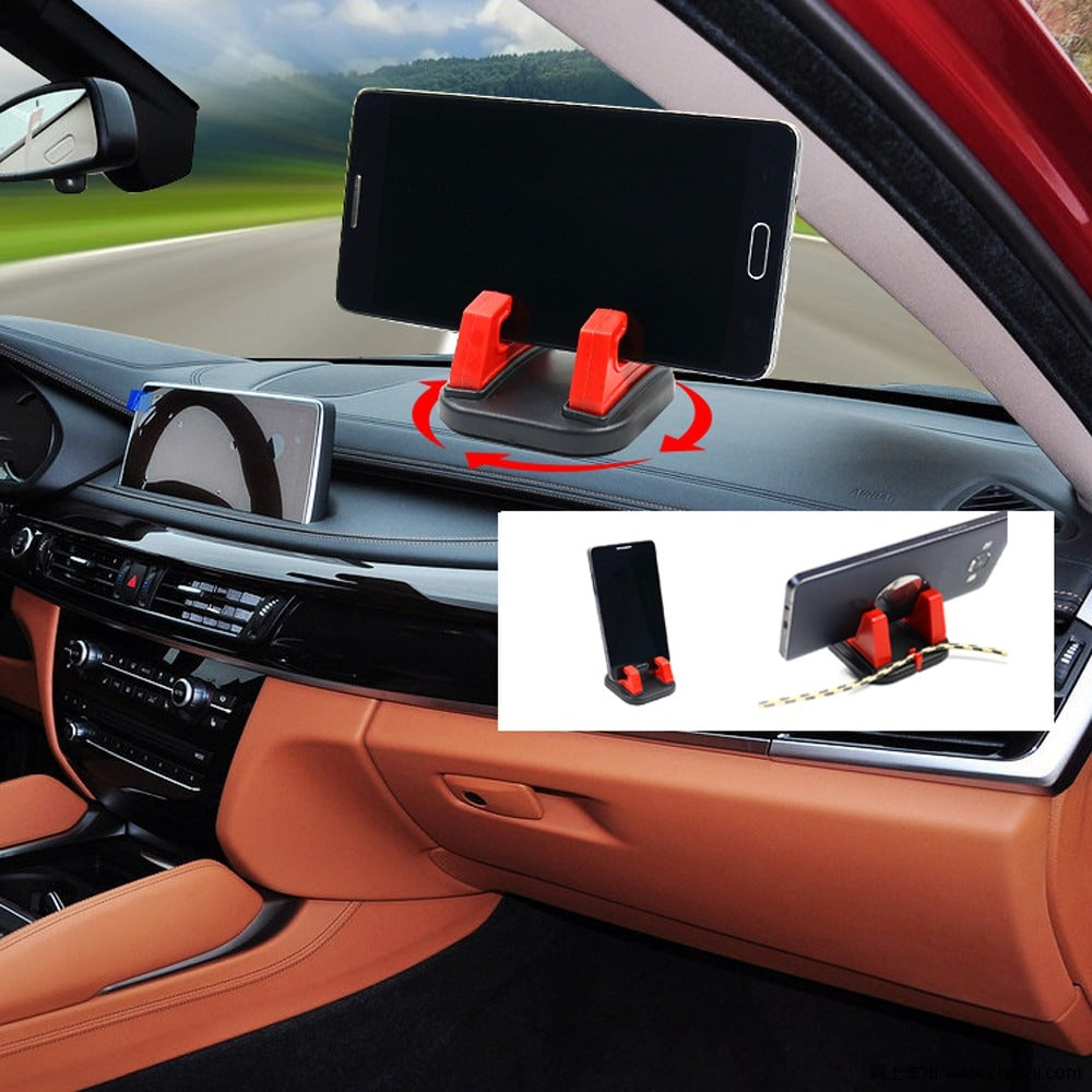 360 Degree Rotating Car Dashboard Cell Phone Holder
