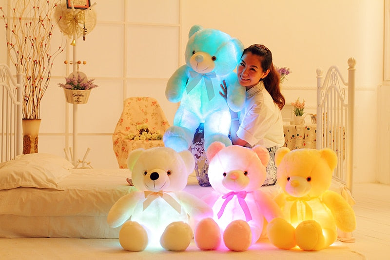 Glowing Plush Teddy Bear