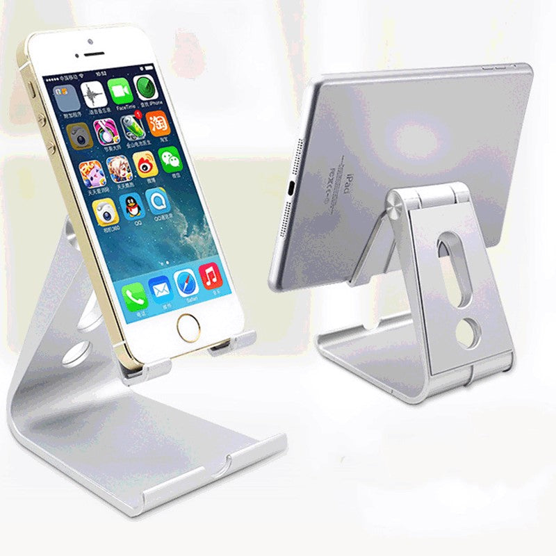 Flexible phone holder for phone and tablet