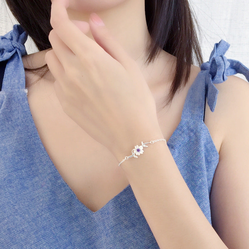 Fashionable Sakura Bracelet