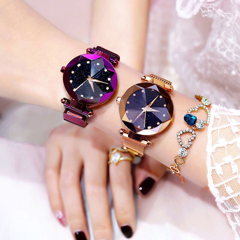 Starry Mesh Luxury Bracelet Watch