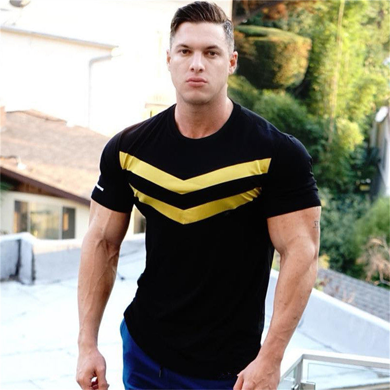 Solid Stripe Tee