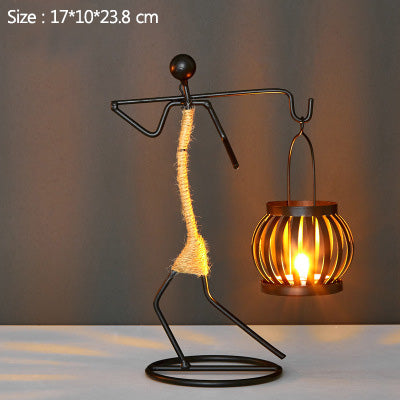 Handmade Figurines Candle Holder