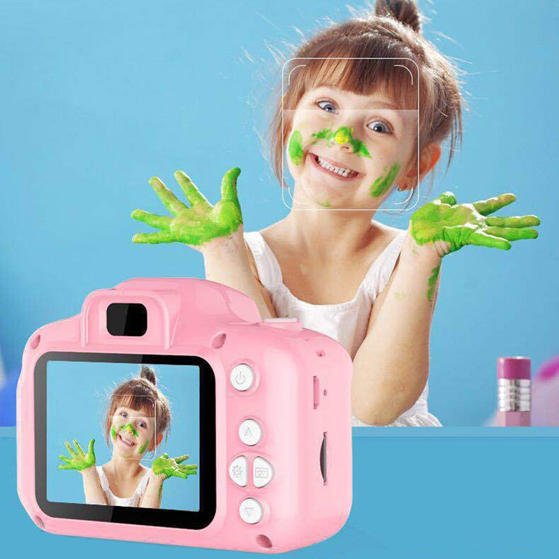 Children's Waterproof 1080P HD Screen Camera