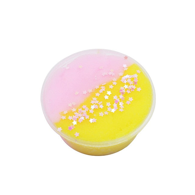 Magic Crystal Colorful Cloud Cotton Slime