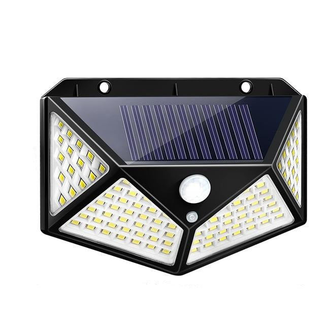 100 LED Solar Lamp With 3 Modes