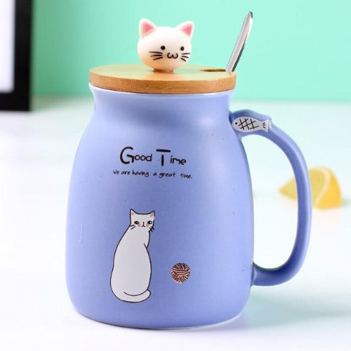 Cute Kitty Kup