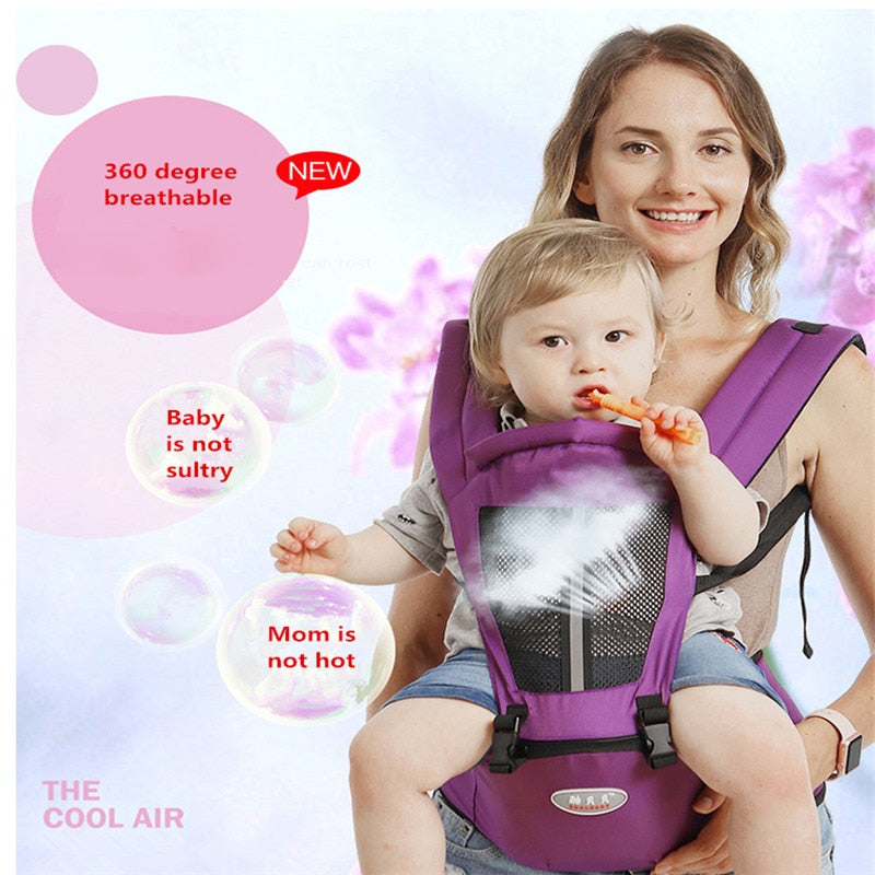Baby Carrier Bag with Waist Stool