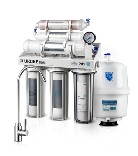 Ukoke Water filtration system Installation diagram