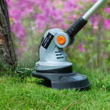Ukoke Cordless Electric Power Grass Trimmer with 20V 2A Battery & Charger Included