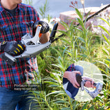 Ukoke Cordless Electric Power Hedge Trimmer with 20V 2A Battery & Charger Included
