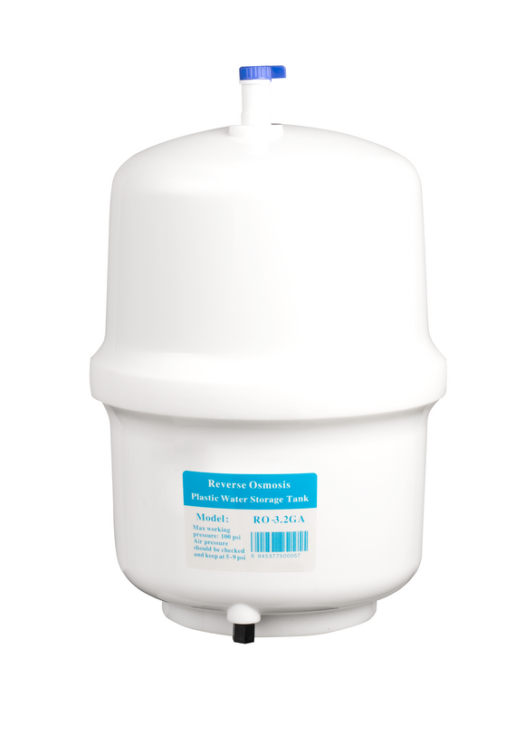 Ukoke 4 Gallon Residential Pre-Pressurized Water Storage Tank for Reverse Osmosis (RO) Systems