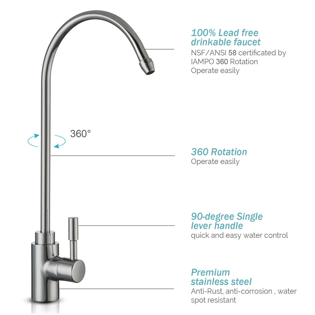 water filter system for kitchen sink