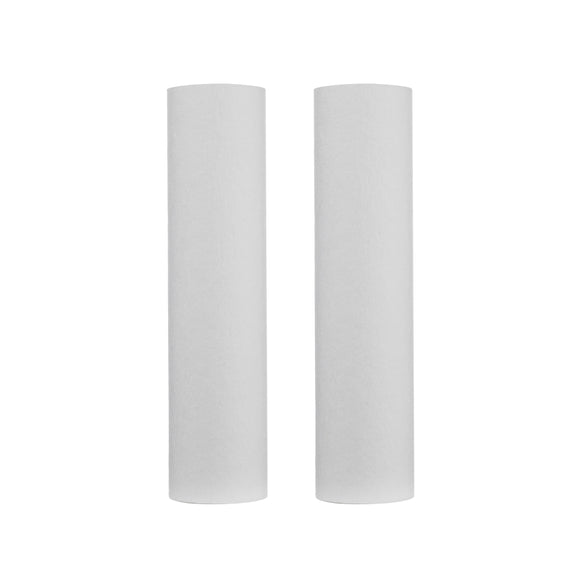 Ukoke 1st Stage 5 Micron Sediment Water Filter Replacement Cartridge for Reverse Osmosis System, 2.5x10, Pack of 2