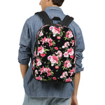 Peony Floral Print Large Backpack