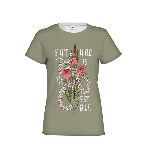 Future is Female Graphic Women's Tee