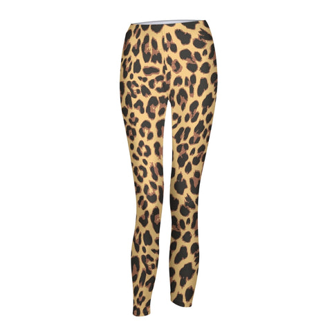 Animal Print Natural Women's Yoga Pant