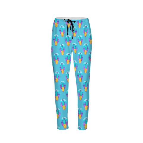 Turquoise Color Ground   Men's Joggers
