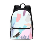 Abstract Doodle Small Canvas Backpack