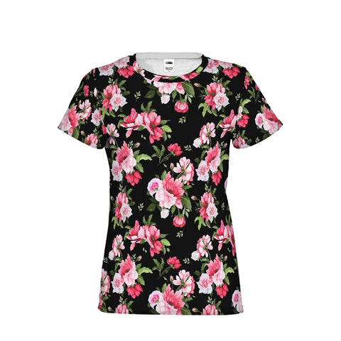 Peony Floral Print Women's Tee