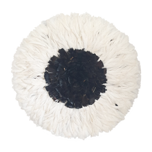 Load image into Gallery viewer, Juju hat - White with Dark Natural Center Large