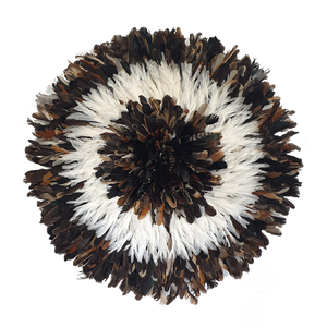 Juju hat - Dark Natural with White Large