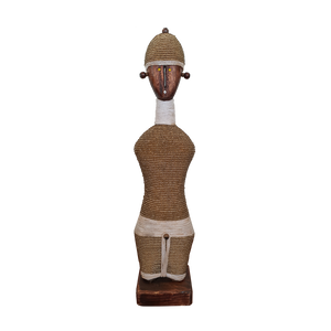 African Namji Doll Male Gold