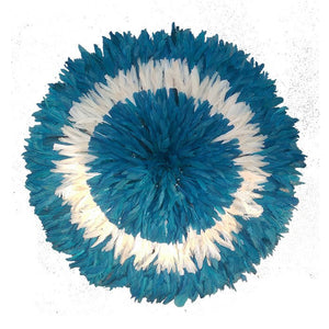 Juju hat - Blue with White Large